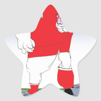Welsh Rugby Player, tony fernandes Star Sticker