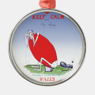 welsh rugby - put the boot in, tony fernandes christmas ornament