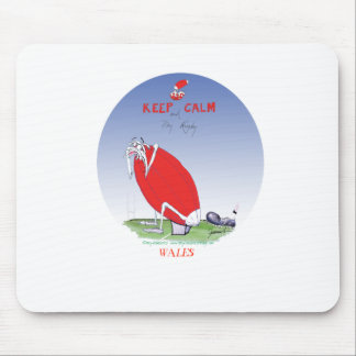 welsh rugby - put the boot in, tony fernandes mouse mat