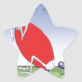 welsh rugby - put the boot in, tony fernandes star sticker