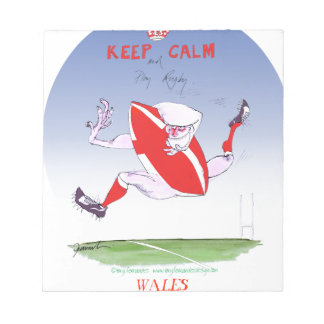 welsh rugby, tony fernandes notepad