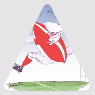 welsh rugby, tony fernandes triangle sticker