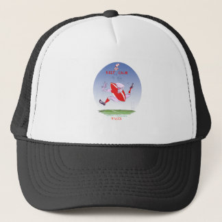 welsh rugby, tony fernandes trucker hat