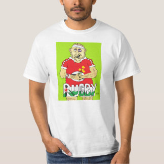 welsh rugny tee shirt
