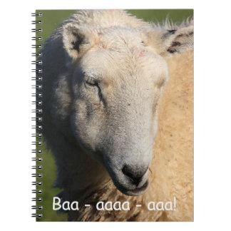Welsh Sheep Notebook