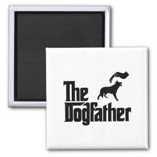 Welsh Sheepdog Square Magnet