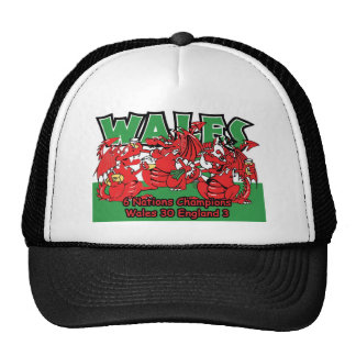Welsh Six Nation Rugby Champions, W 30-3 E Cap