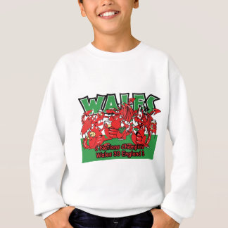 Welsh Six Nation Rugby Champions, W 30-3 E Sweatshirt