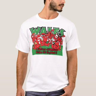 Welsh Six Nation Rugby Champions, W 30-3 E T-Shirt
