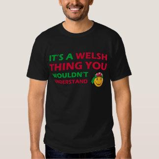 welsh Smiley Designs Tshirt