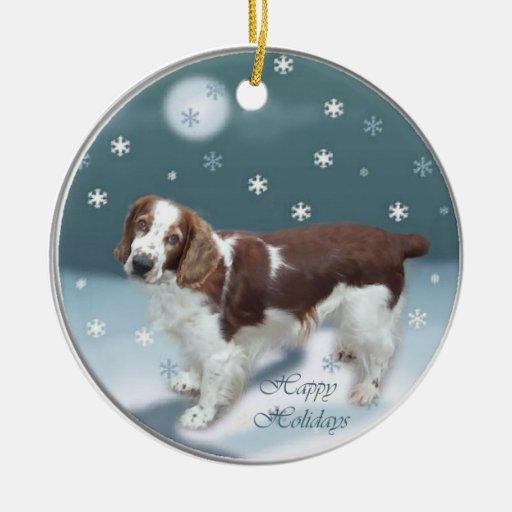 Welsh Springer Spaniel Christmas Gifts Christmas Tree Ornament