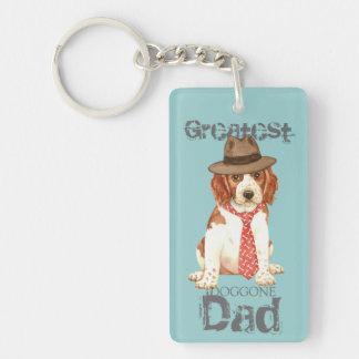 Welsh Springer Spaniel Dad Key Ring