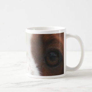 welsh springer spaniel eyes.png coffee mug