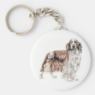 Welsh Springer Spaniel Key Ring