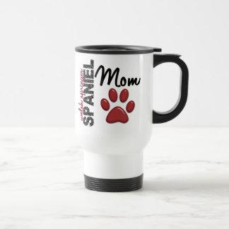 Welsh Springer Spaniel Mom Paw Print 2 Travel Mug