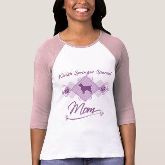 Welsh Springer Spaniel Mom T Shirt
