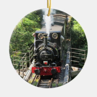 Welsh Steam Train. Christmas Ornament