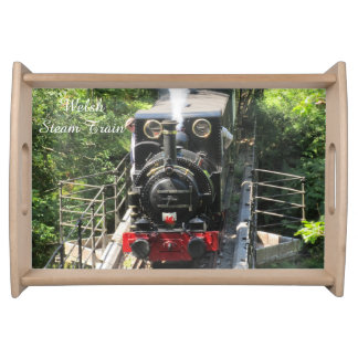 Welsh Steam Train. Serving Tray