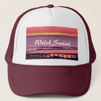 WELSH SUNSET TRUCKER HAT