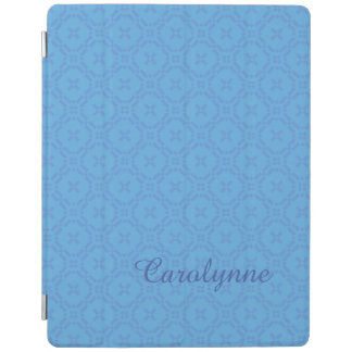 Welsh Tapestry Pattern Blue Custom iPad Cover