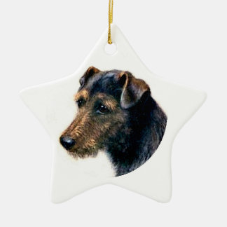 Welsh Terrier Christmas Ornament