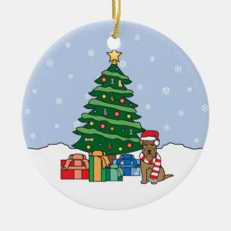 Welsh Terrier Christmas Ornament
