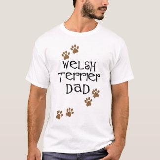 Welsh Terrier Dad for Welsh Terrier Dog Dads T-Shirt