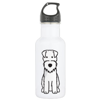 Welsh Terrier Dog Cartoon 532 Ml Water Bottle