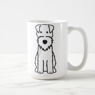 Welsh Terrier Dog Cartoon Coffee Mug