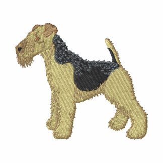 Welsh Terrier Embroidered Hoodie