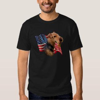 Welsh Terrier Flag T Shirt