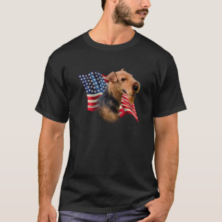 Welsh Terrier Flag T-Shirt