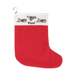 Welsh Terrier Holiday Stocking