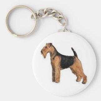 Welsh Terrier Key Ring