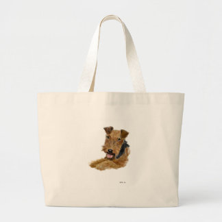 Welsh Terrier Large Tote Bag