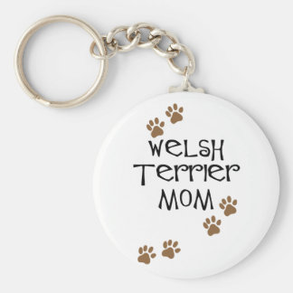 Welsh Terrier Mom for Welsh Terrier Dog Moms Key Ring