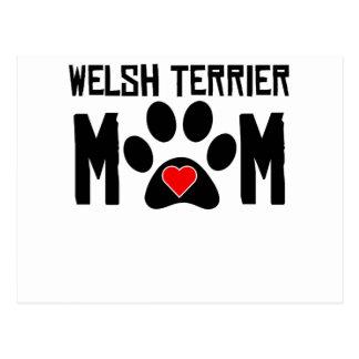Welsh Terrier Mum Postcard
