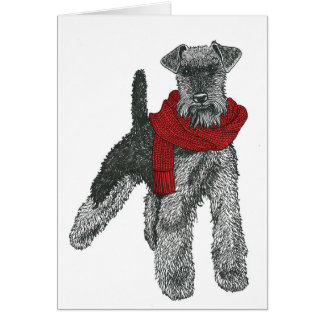 Welsh Terrier, Red. Card