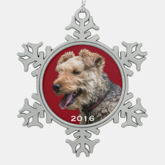 Welsh Terrier Snowflake Ornament