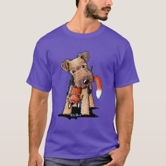 Welsh Terrier With Fox T-Shirt