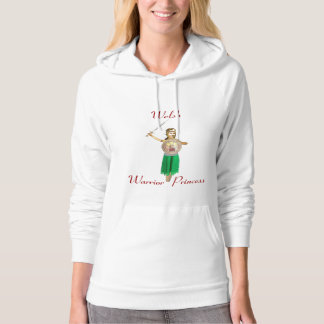 Welsh Warrior Princess Hoodie