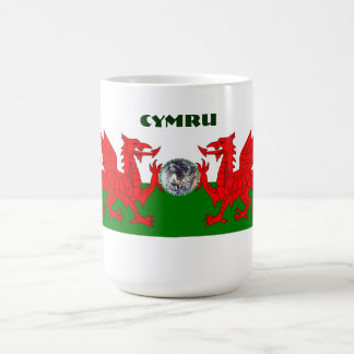 Welsh World Double Dragon Coffee Mug