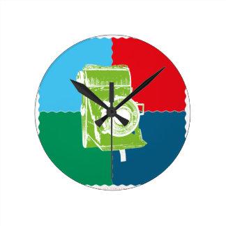 Welta Weltur camera Wall Clocks