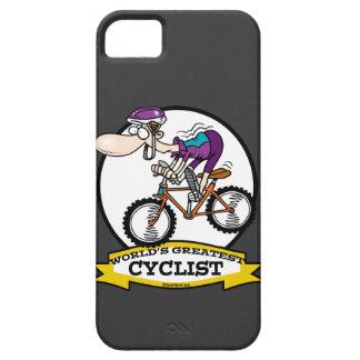 WELTBESTER RADFAHRER-MANN-CARTOON iPhone 5 CASE