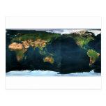 Weltkarte world map postkarten