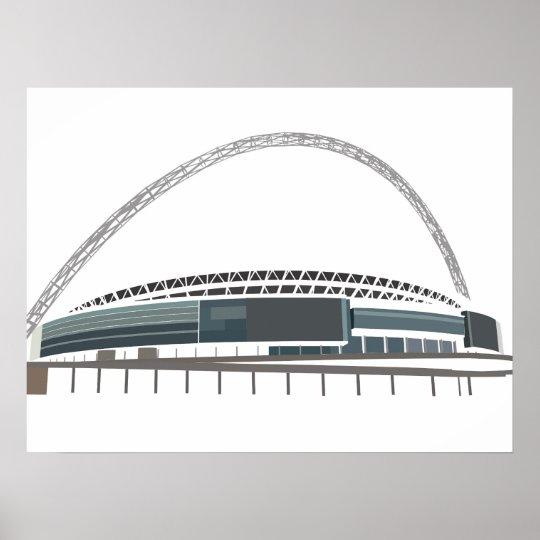 Wembley Poster