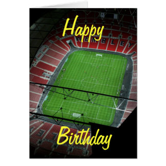 Wembley Stadium Birthday Card