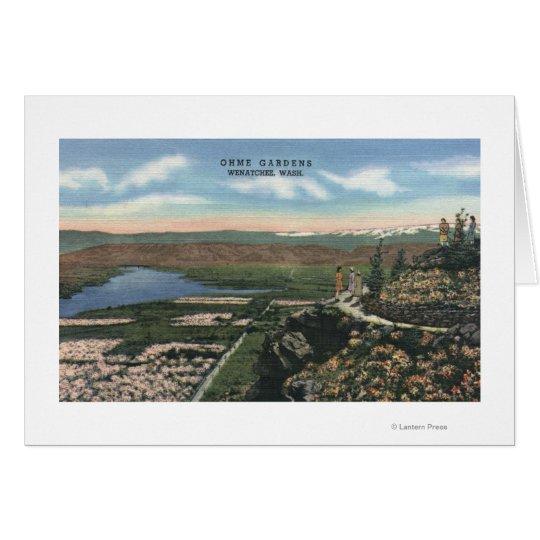 Wenatchee, WashingtonView of Ohme Gardens # 1 Card