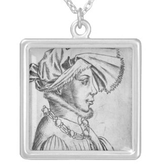 Wenceslaus I, first Duke of Luxembourg Silver Plated Necklace