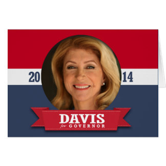 WENDY DAVIS CAMPAIGN CARDS